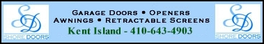 Garage doors and openers, Dreamscreens retractable screens and Sunsetter Awnings - Click Here for More Info!
