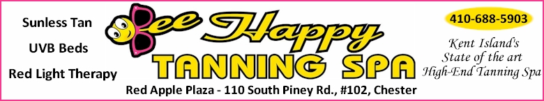 Bee Happy Tanning Spa - Click Here  for their website