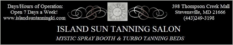 Island Sun Tanning - Click Here  for their website