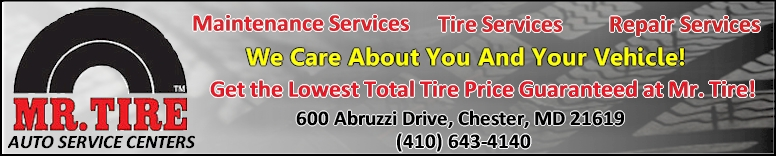 Mr. Tire in Chester - Click Here!