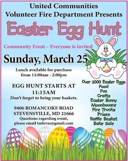 Kent Island Easter Egg Hunt
