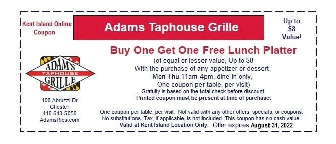 Adams Taphouse Grill