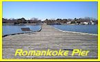 The Romankoke Fishing Pier.  Click to enlarge.