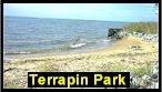 Terrapin Park Beach.  Click to enlarge.