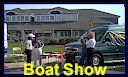 Live broadcast on local Radio Station WNAV from the Boat Show.