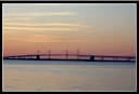 The Bay Bridge at sunset....Click to enlarge.