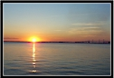Sunset on the Bay....Click to enlarge.